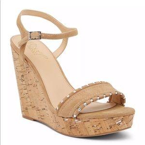 Jewel Badgley Mischka Gina Wedge Platform Sandal